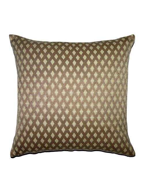 Prism Cotton-Viscose Cushion Cover - 18in x 18in