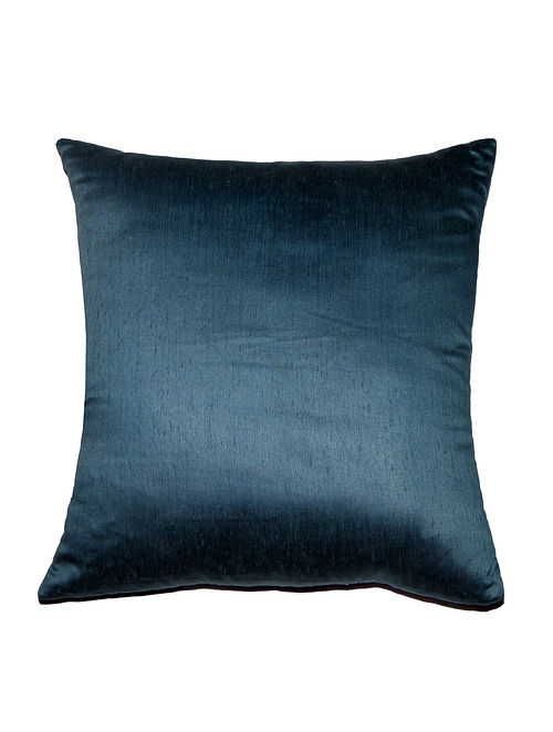 Solid Viscose-Polyester Cushion Cover - 18in x 18in