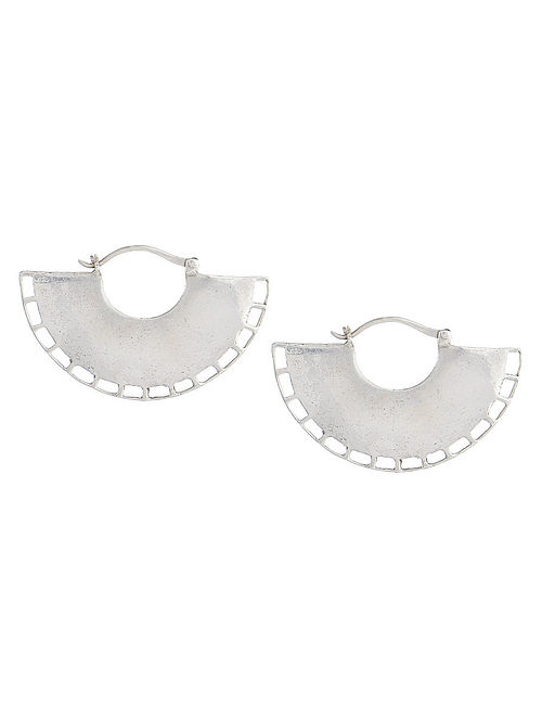 Petal Silver Bali Earrings