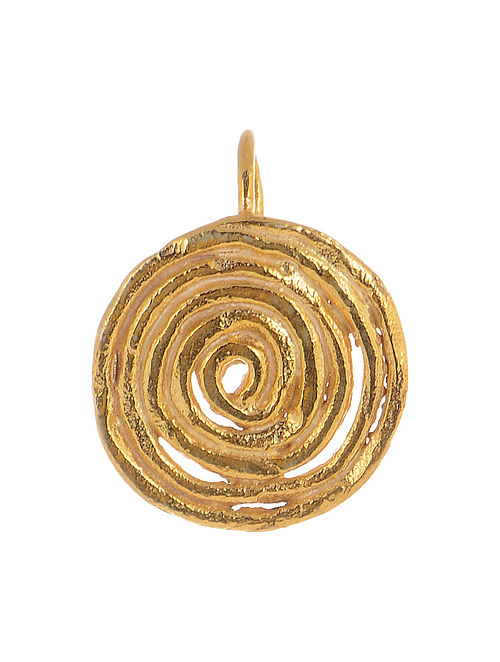 Spiral Gold-plated Silver Nose Clip