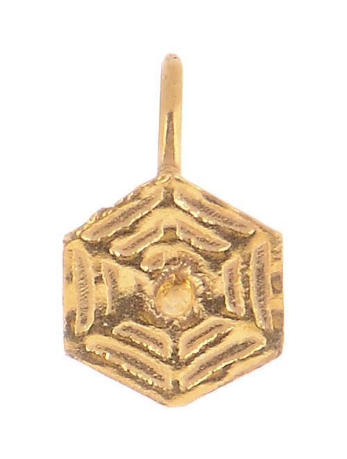 Classic Gold-plated Silver Nose Clip