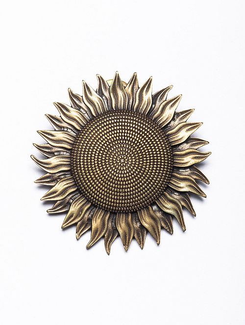 Gold Tone Handcrafted Brooch