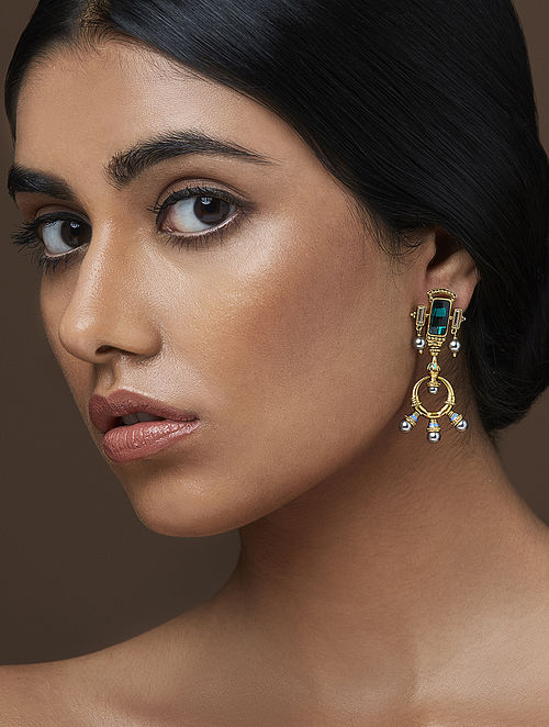 AMRAPALI- Baroque Fresco Earring