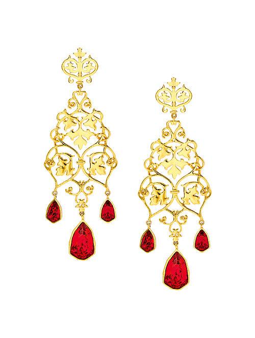 EINA AHLUWALIA-FE Ivy Earrings Made with Swarovski Crystals