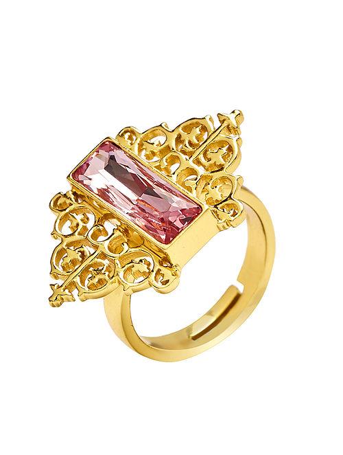EINA AHLUWALIA-FE Vine Ring Made with Swarovski Crystals
