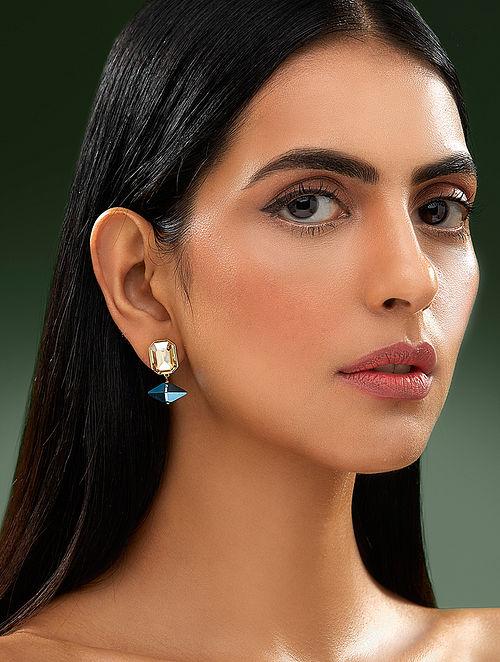 SHIVAN & NARRESH-Edomer Pico Earrings Made with Swarovski Crystals