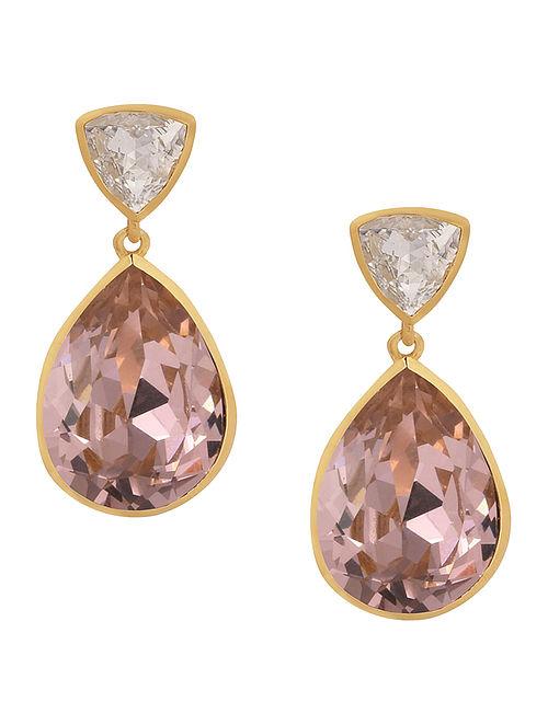 ISHARYA- Classic Briiance Earrings Made with Swarovski Crystals