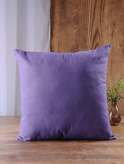 Lavender Cotton Cushion Cover (16in x 16in)