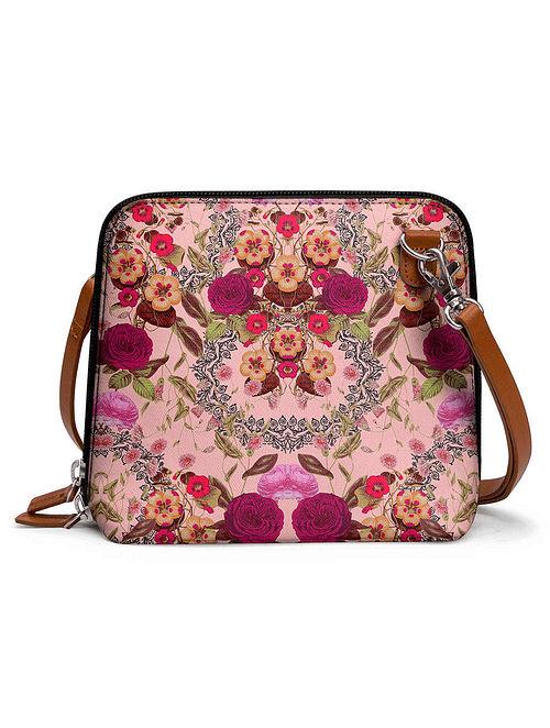 Multicolored Printed Sling Bag