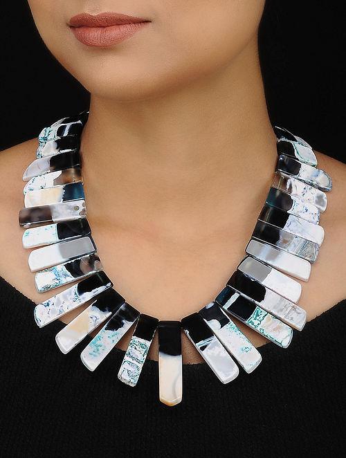 Multicolored Jade Beaded Necklace
