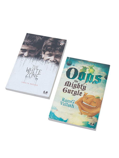 Oops the Mighty Gurgle and The White Zone (Set of 2)