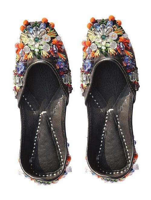 Multicolor Handcrafted Leather Jutti