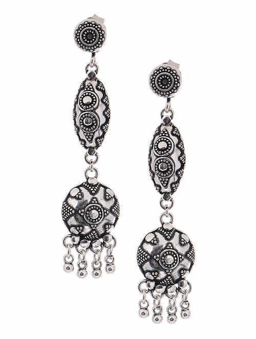 d641fe48ed Buy Tribal Silver Earrings Online at Jaypore.com