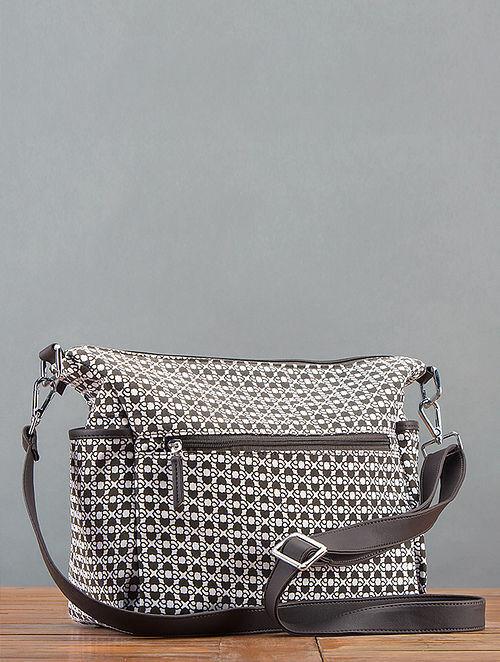 Charcoal Printed Sling Bag