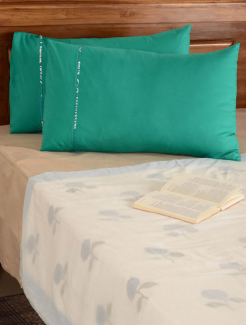 Turquoise Pillow  Cover-Set of 2