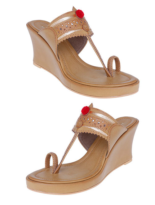740729573 Buy Beige Handcrafted Sandals Online at Jaypore.com