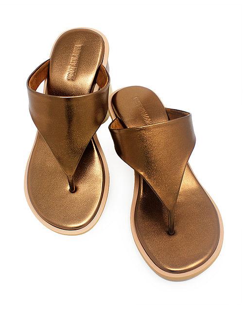 Copper Handcrafted Block Heels