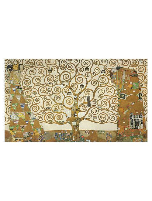 The Tree of Life, Stoclet Frieze - Gustav Klimt Litho Print on Paper