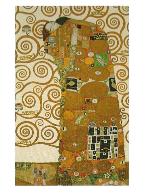 Die Erfullung - Gustav Klimt Litho Print on Canvas