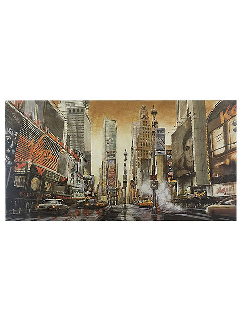 Crossroads - Times Square Print on Paper - Matthew Daniels
