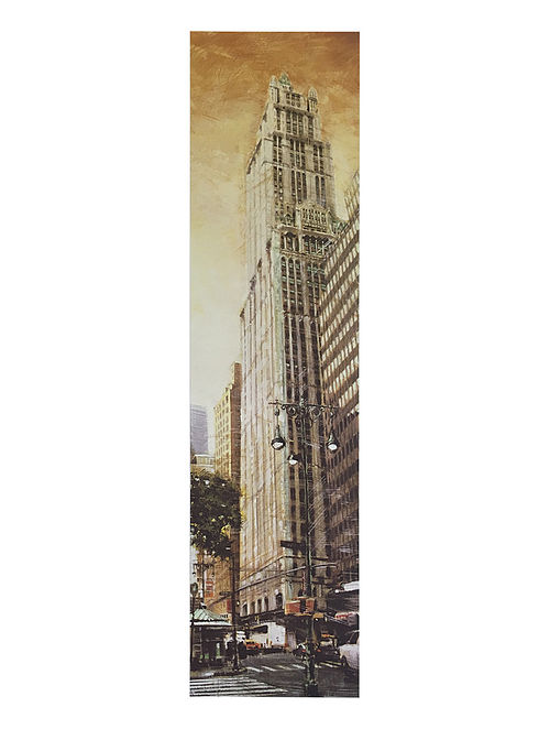 The Woolworth Building Print on Paper - Matthew Daniels