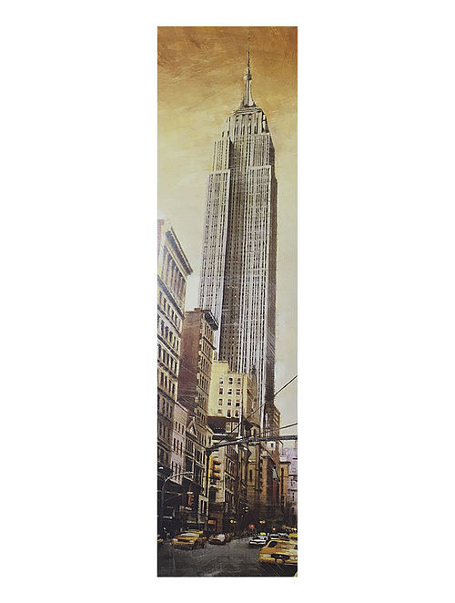The Empire Estate Building Print on Paper
