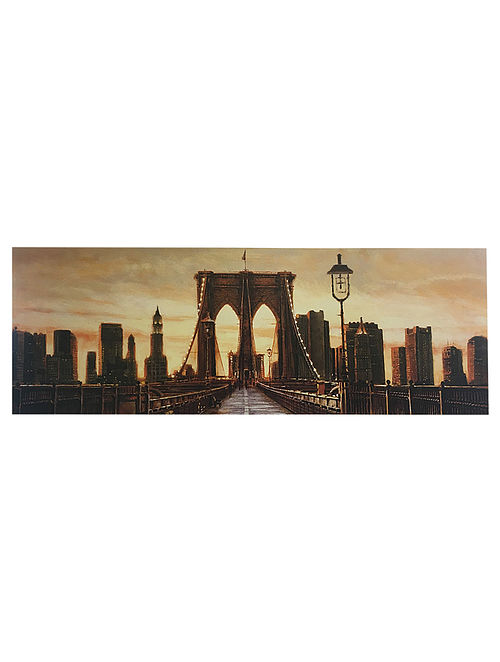 Manhattan Evening Print on Paper - Matthew Daniels