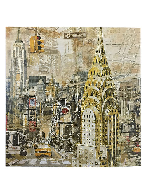 Manhattan Print on Paper - Tyler Burke