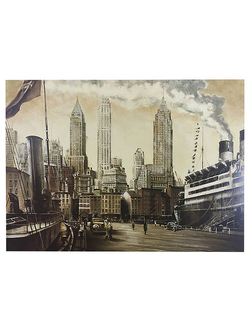 Departure, NYC Print on Paper - Matthew Daniels