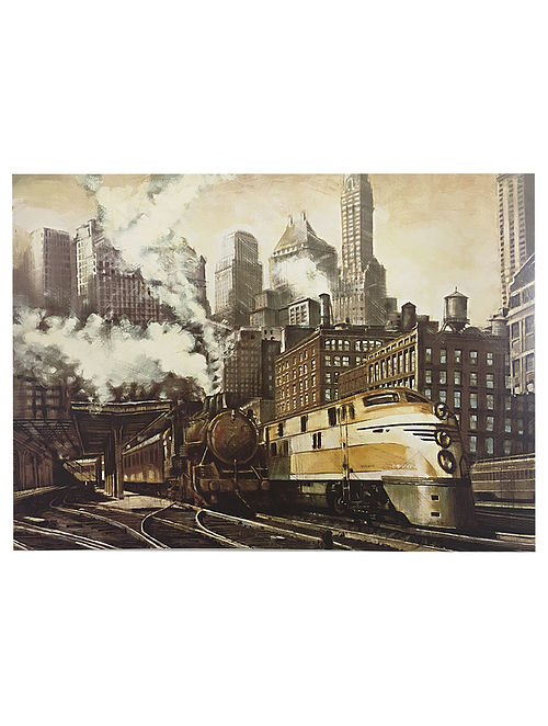 The Station, Chicago Print on Paper - Matthew Daniels