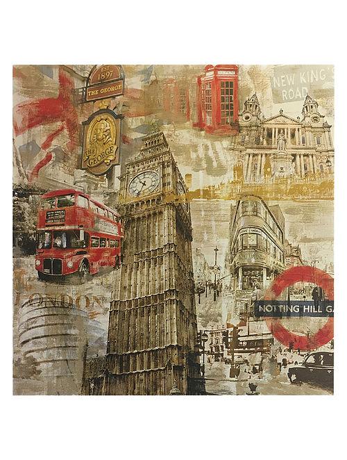 In London Print on Paper - Tyler Burke