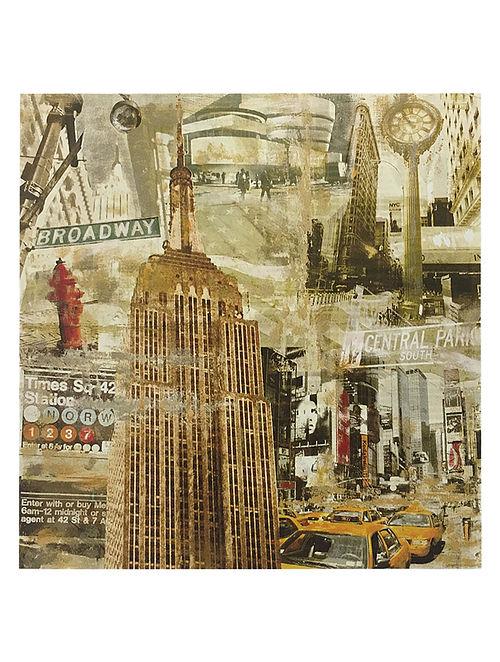 In New York City Print on Paper - Tyler Burke