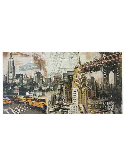 New York Print on Paper - Tyler Burke