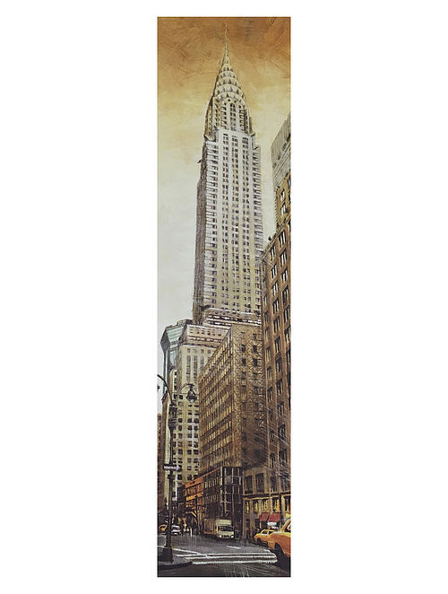 The Chrysler Building Print on Canvas