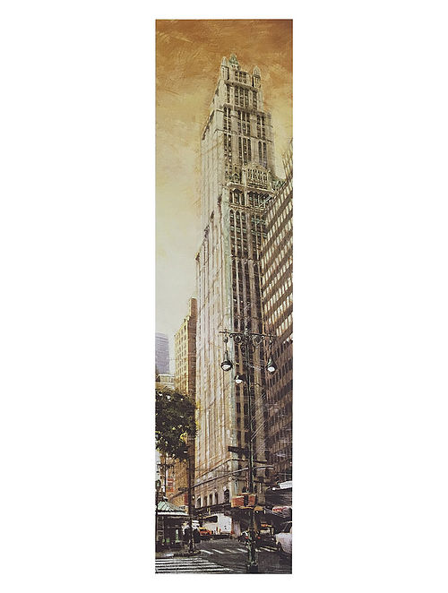 The Woolworth Building Print on Canvas - Matthew Daniels