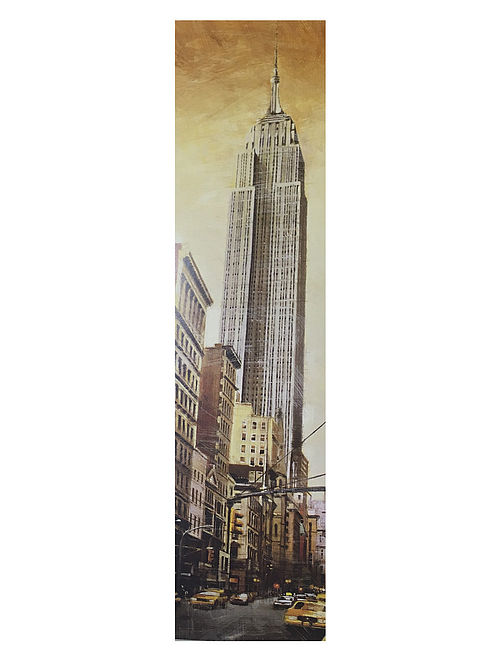 The Empire Estate Building Print on Canvas