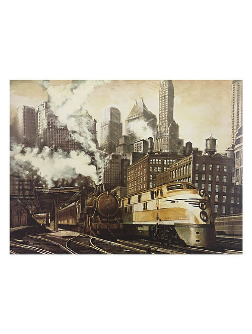 The Station, Chicago Print on Canvas - Matthew Daniels
