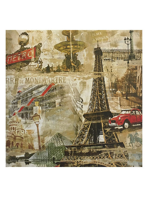 Paris Print on Canvas - Tyler Burke