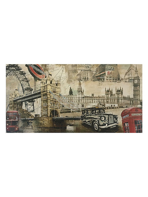London Print on Canvas - Tyler Burke