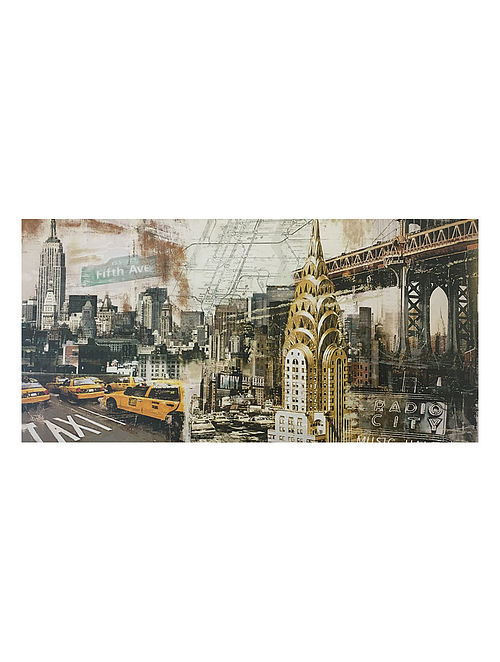 New York Print on Canvas - Tyler Burke