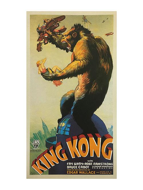 Buy King Kong 1933 Print On Paper Online At Jaypore Com