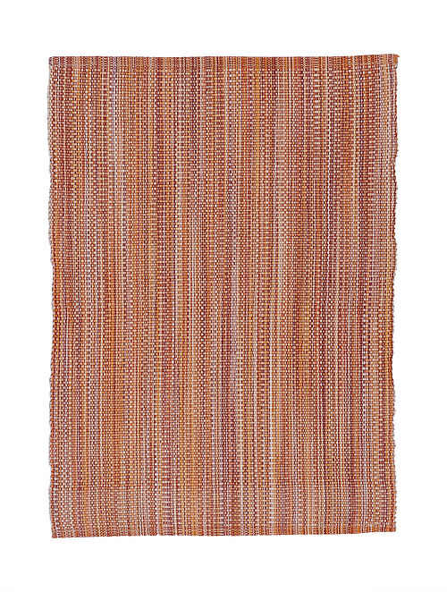 Brown Handwoven Cotton Placemats (Set of 6)