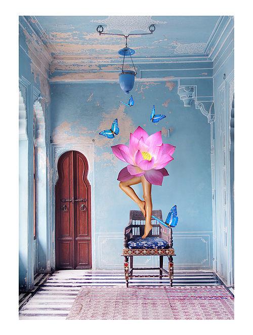 Lotus Dream Art Print on Paper