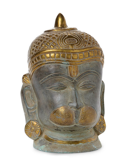 Brass Home Accent with Lord Hanuman Design