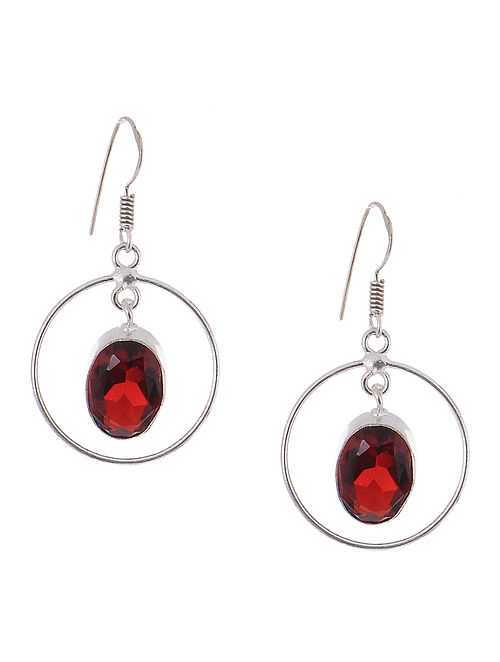 Classic Red Earrings
