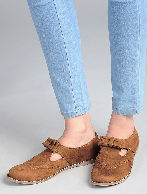 Tan Handcrafted Shoes