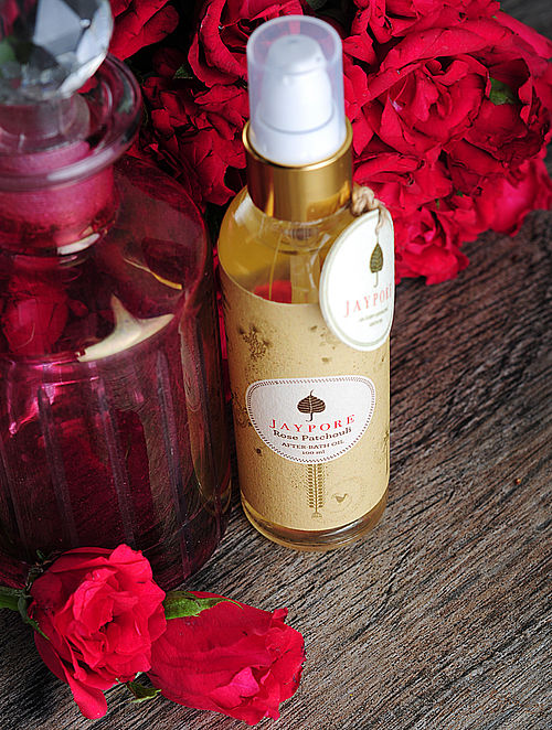 Rose Patchouli After-Bath Oil - 100 ml