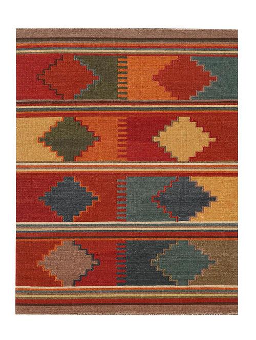 Anatolia Multicolored Hand made Reversible Wool Rug