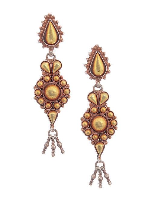 111370fd8cfd62 Buy Dual Tone Silver Earrings Online at Jaypore.com