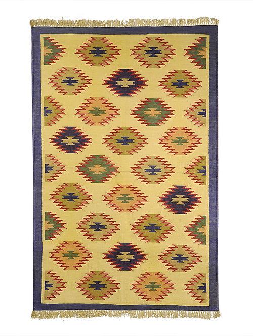 Multi-Color Cotton Punja Durrie 60in x 37.5in
